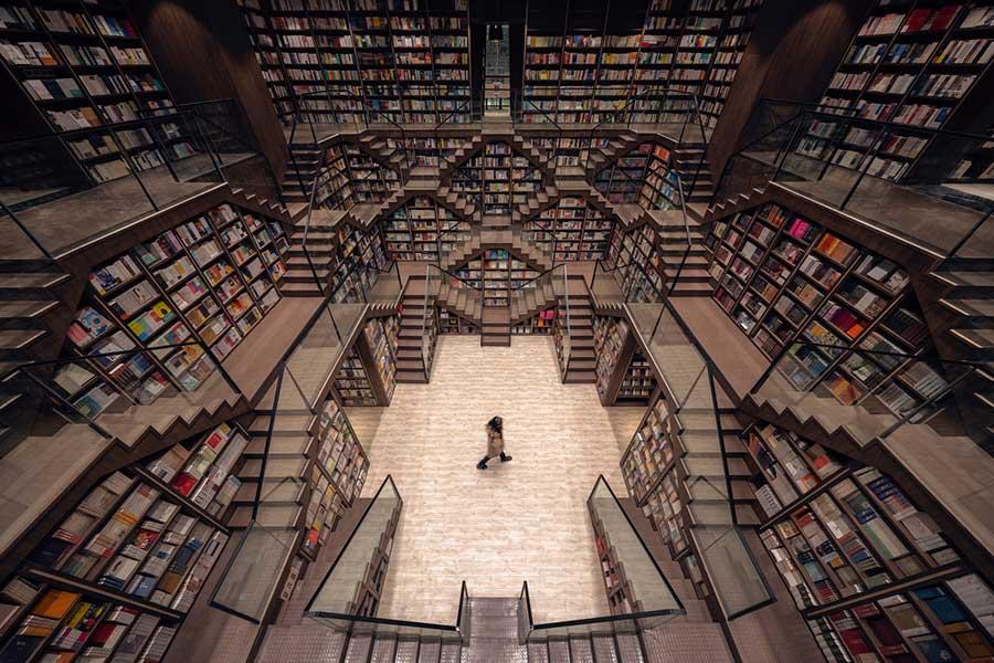 Каким может быть книжный магазин