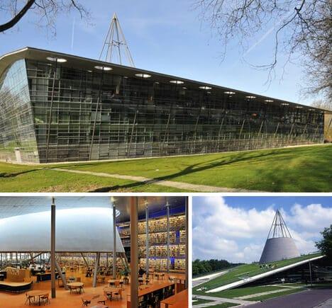 Central-Library-Technische-Universiteit-Delft-Netherlands
