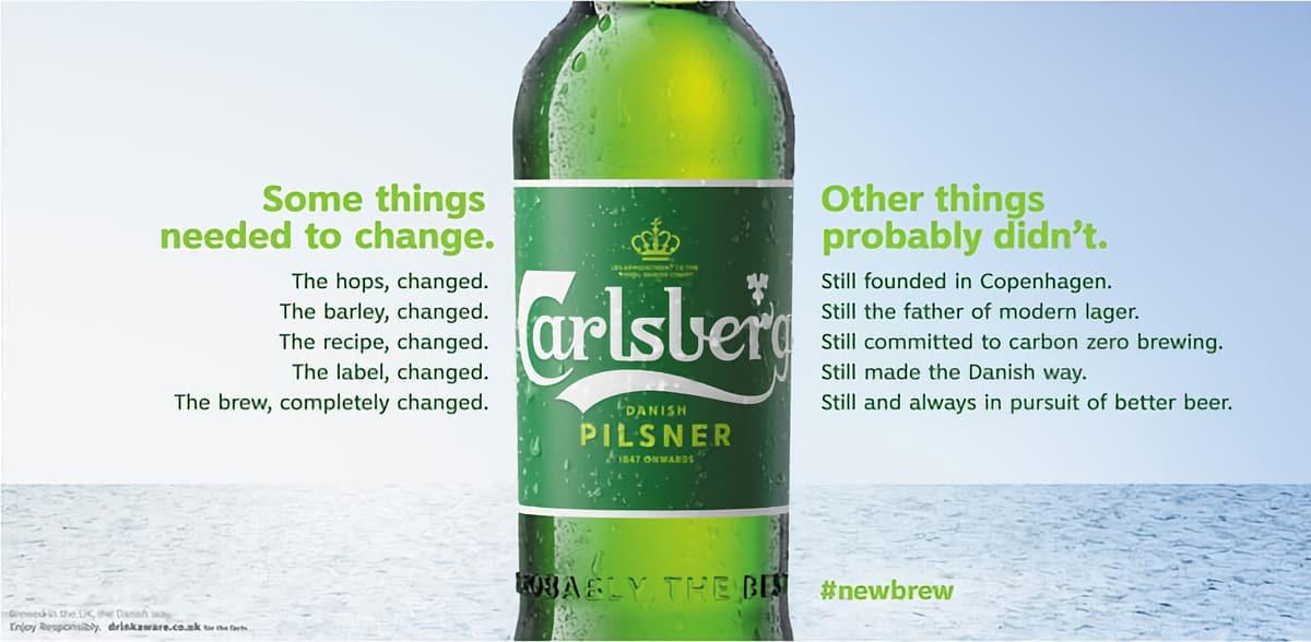 Самая честная рекламная кампания Carlsberg