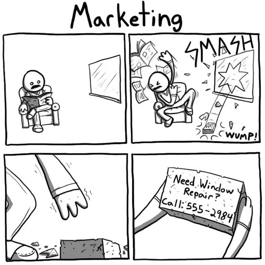 этот беспощадный маркетинг